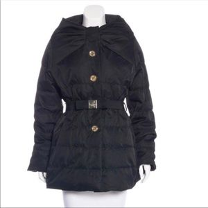 Kate Spade Becky Bow Puffer Coat